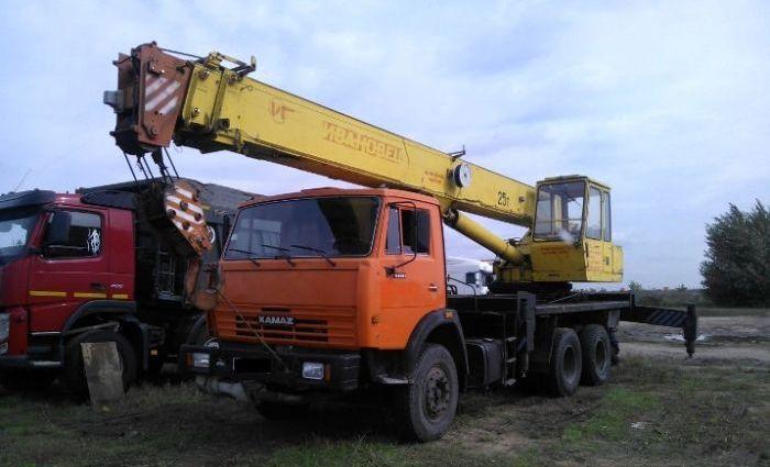 Автокран КамАЗ  20 тонн.